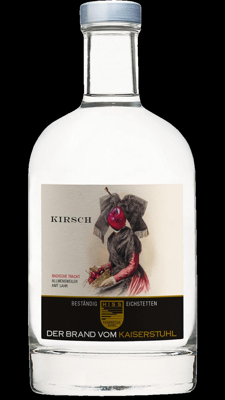 Produktfoto - Kirsch im Eichenholzfass gereift aus der Linie Beständig von Weingut Hiss aus Kaiserstuhl, Eichstetten
