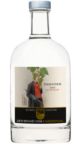 Produktfoto - Trester vom Muskateller aus der Linie Beständig von Weingut Hiss aus Kaiserstuhl, Eichstetten