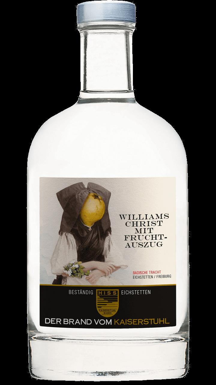 Produktfoto - Williams Christ mit Fruchtauszug aus der Linie Beständig von Weingut Hiss aus Kaiserstuhl, Eichstetten