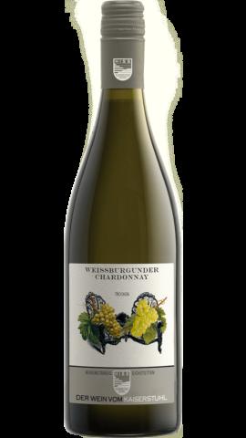 Produktfoto - Weißburgunder & Chardonnay trocken 2016 aus der Linie Bodenständig von Weingut Hiss aus Kaiserstuhl, Eichstetten