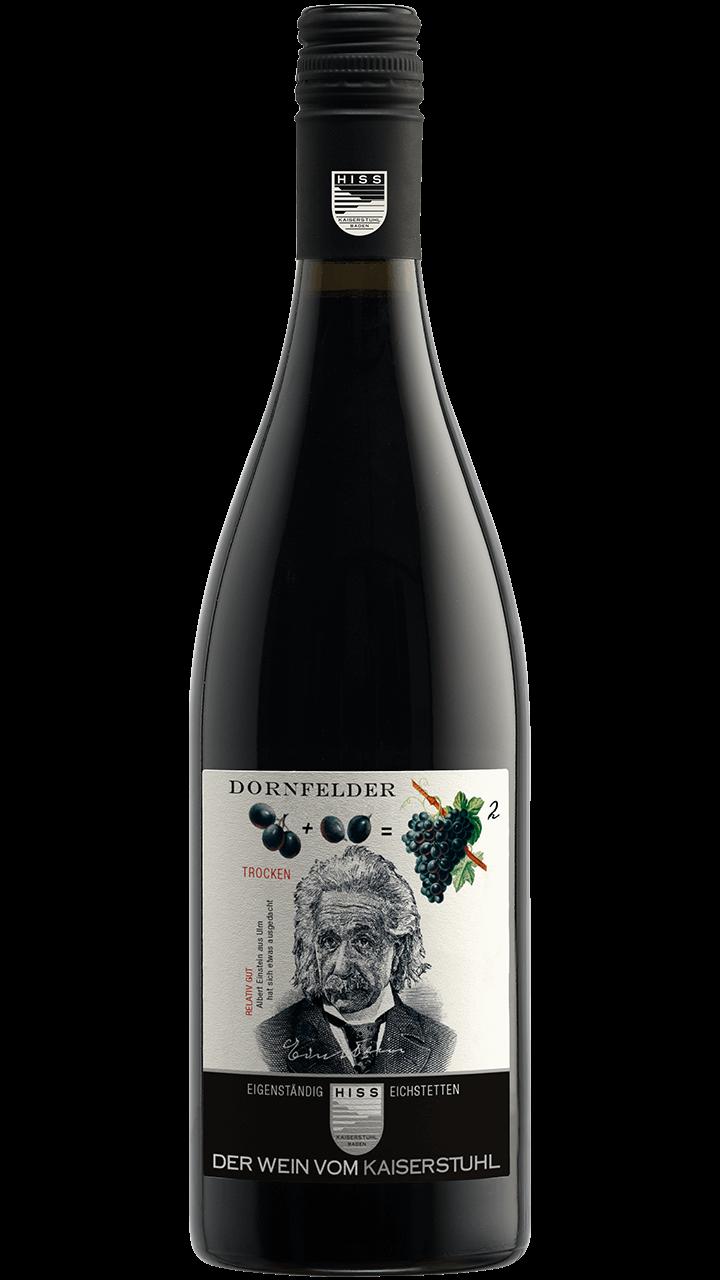 Produktfoto - Dornfelder trocken 2016 aus der Linie Eigenständig von Weingut Hiss aus Kaiserstuhl, Eichstetten
