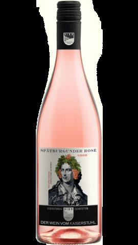 Produktfoto - Spätburgunder Rosé feinherb 2017 aus der Linie Eigenständig von Weingut Hiss aus Kaiserstuhl, Eichstetten