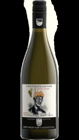 Produktfoto - Gewürztraminer Spätlese feinherb 2016 aus der Linie Eigenständig von Weingut Hiss aus Kaiserstuhl, Eichstetten