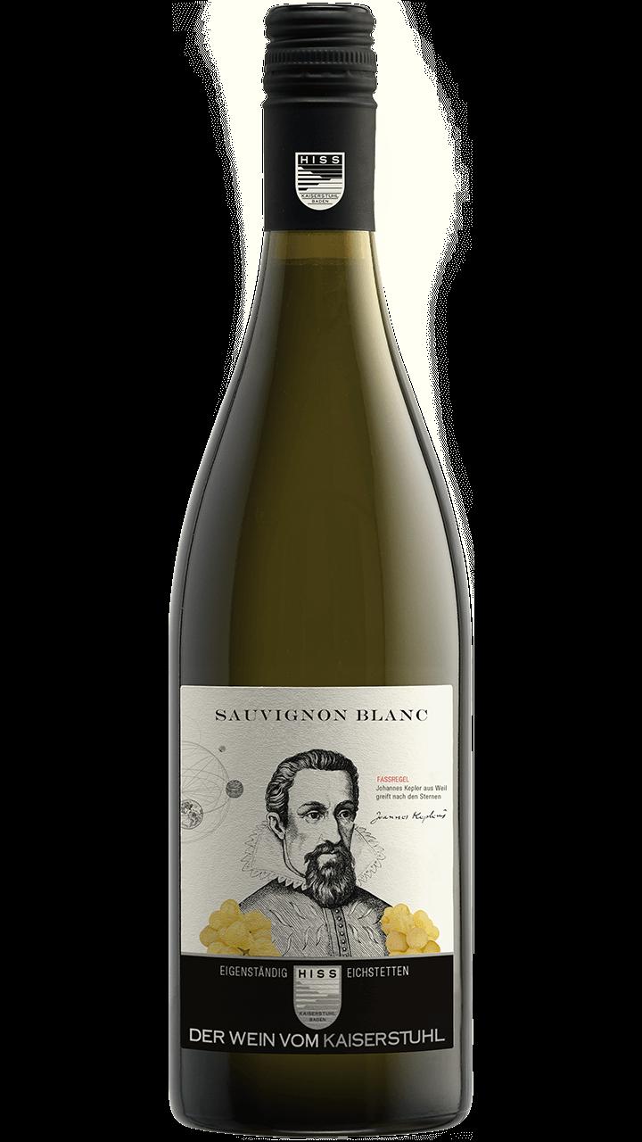 Produktfoto - Sauvignon blanc  2017 aus der Linie Eigenständig von Weingut Hiss aus Kaiserstuhl, Eichstetten