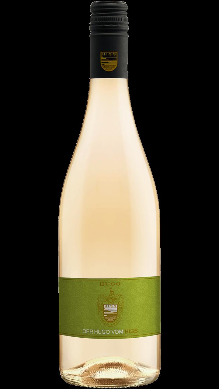 Produktfoto - HUGO by Hiss Secco mit Holunderblütenlikör und Limette aus der Linie Sekt & Secco von Weingut Hiss aus Kaiserstuhl, Eichstetten