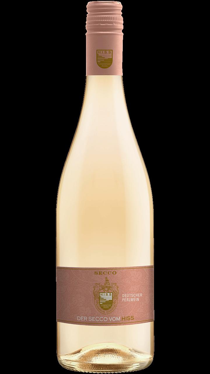 Produktfoto - Secco weiß Perlwein aus der Linie Sekt & Secco von Weingut Hiss aus Kaiserstuhl, Eichstetten