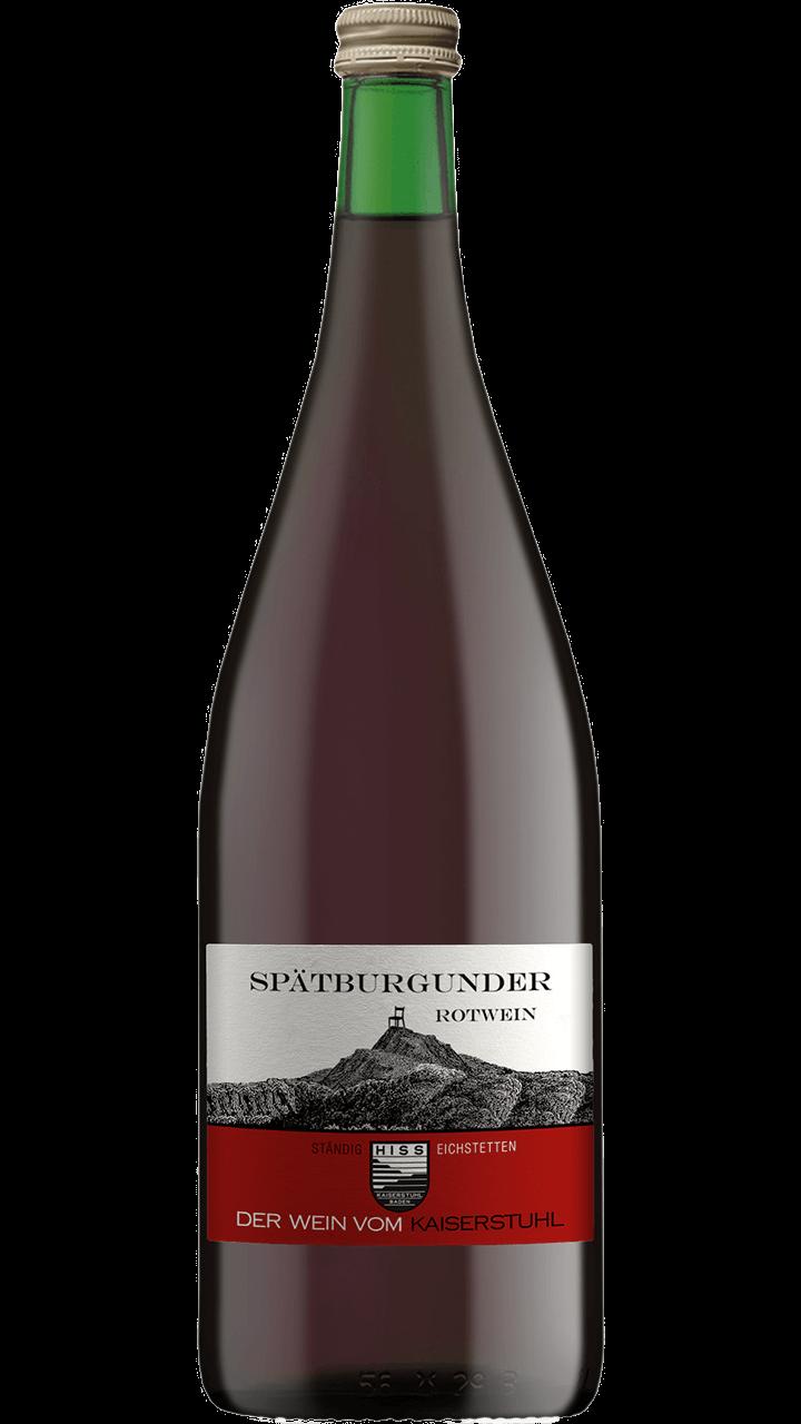 Produktfoto - Spätburgunder Rotwein 2016 aus der Linie Ständig von Weingut Hiss aus Kaiserstuhl, Eichstetten