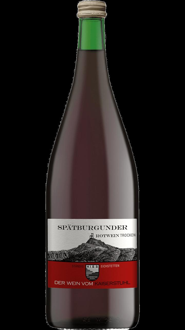 Produktfoto - Spätburgunder Rotwein trocken 2016 aus der Linie Ständig von Weingut Hiss aus Kaiserstuhl, Eichstetten