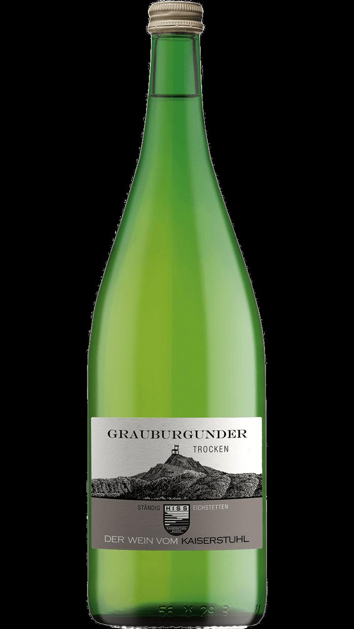 Produktfoto - Grauburgunder trocken 2017 aus der Linie Ständig von Weingut Hiss aus Kaiserstuhl, Eichstetten