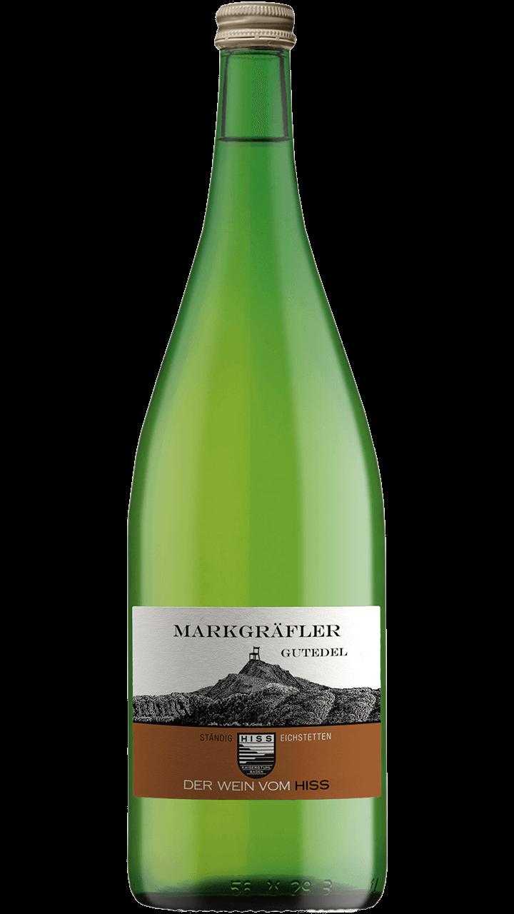 Produktfoto - Markgräfler Gutedel trocken 2017 aus der Linie Ständig von Weingut Hiss aus Kaiserstuhl, Eichstetten