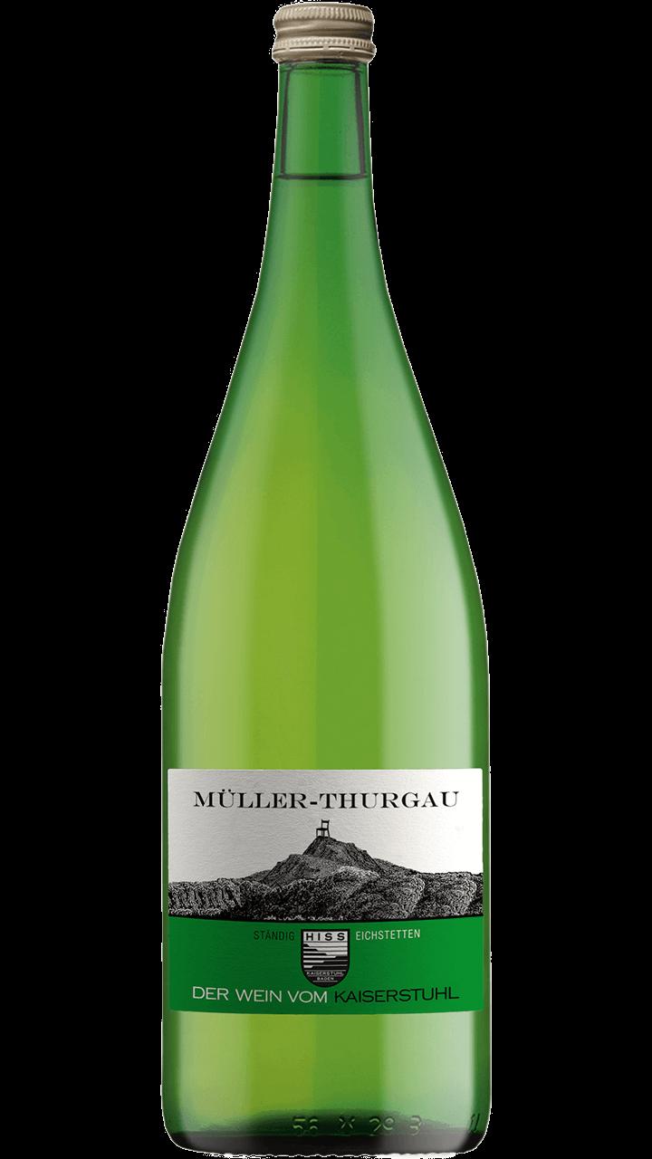 Produktfoto - Müller Thurgau  2017 aus der Linie Ständig von Weingut Hiss aus Kaiserstuhl, Eichstetten